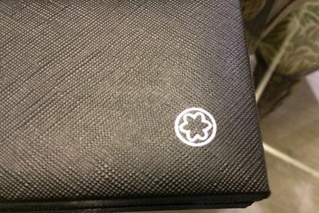 fake montblanc pen logo